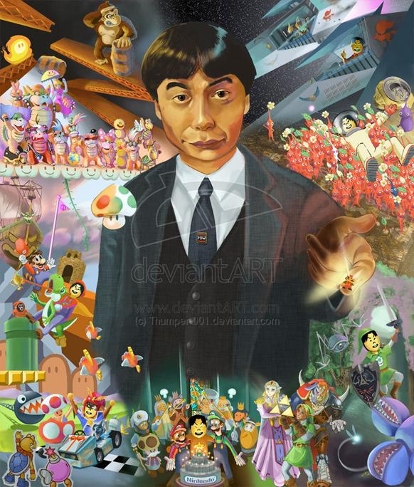 Hyllning till Shigeru Miyamoto