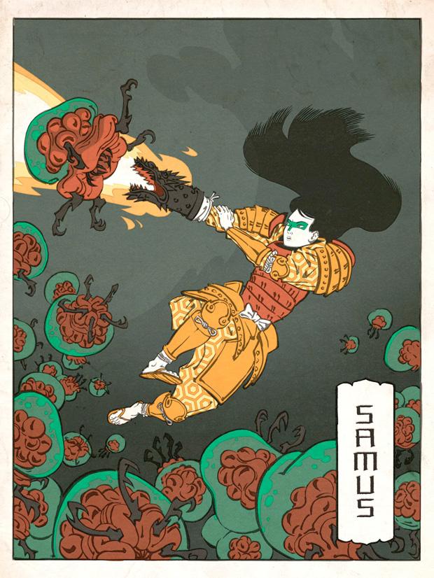 Japanska träsnitt #2