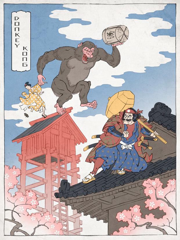 Japanska träsnitt #5