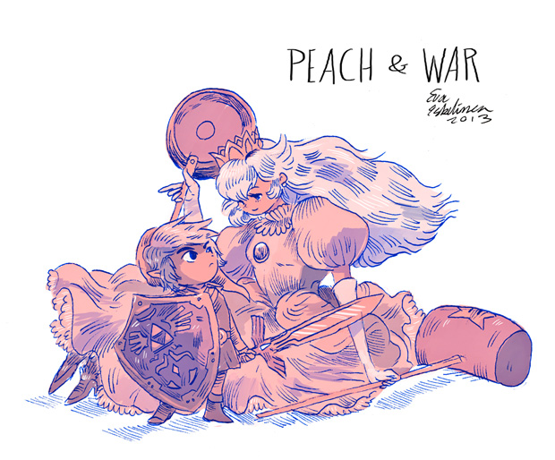 Krigets persika