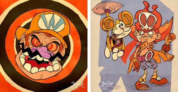 Spel-karikatyrer #11