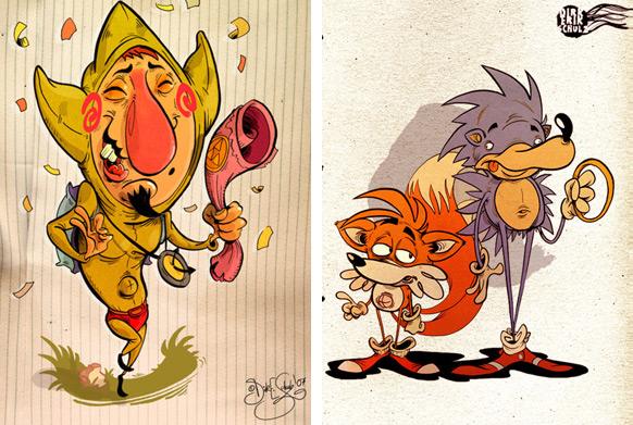 Spel-karikatyrer #12