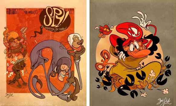 Spel-karikatyrer #13