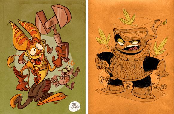 Spel-karikatyrer #14