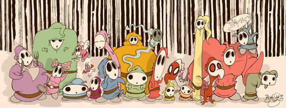Spel-karikatyrer #15