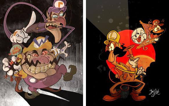 Spel-karikatyrer #16