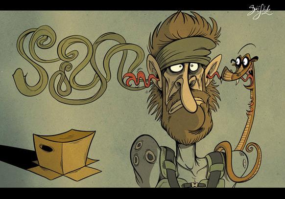Spel-karikatyrer #17
