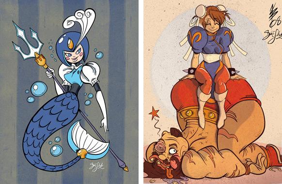 Spel-karikatyrer #3