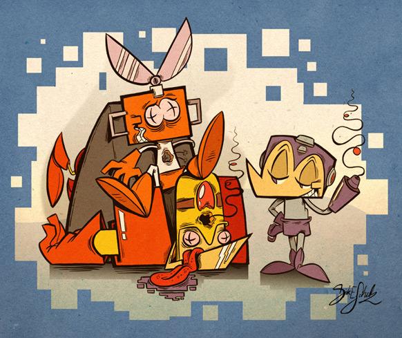 Spel-karikatyrer #6