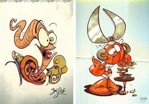 Spel-karikatyrer #7