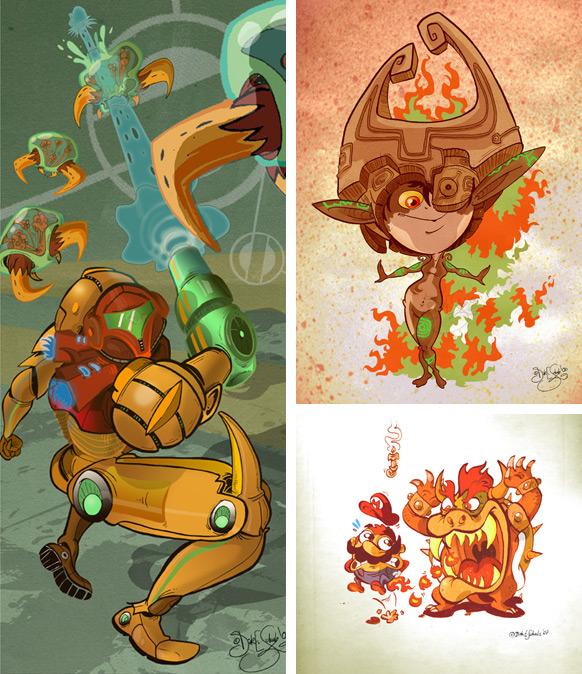 Spel-karikatyrer #8