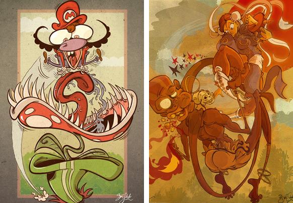 Spel-karikatyrer #9